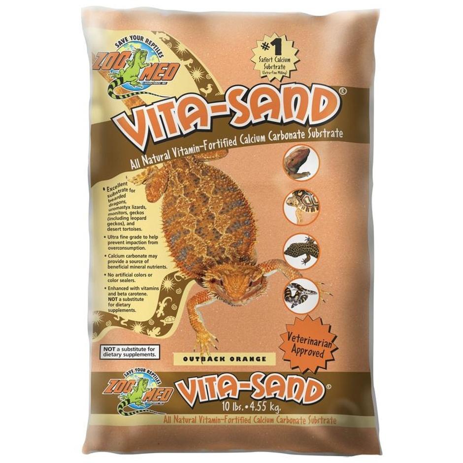 Zoo Med VITA-SAND OUTBACK ORANGE 10LB
