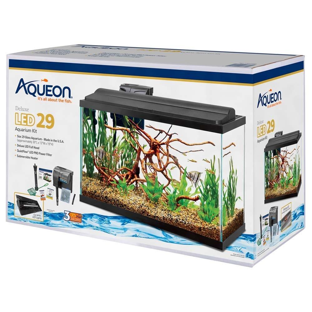 Aqueon Aqueon Deluxe 29 Gallon Prepriced Tank