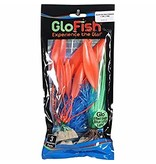 Tetra Glo Fish Plastic Plants Multipack Sm Blue Md Orange Md Green