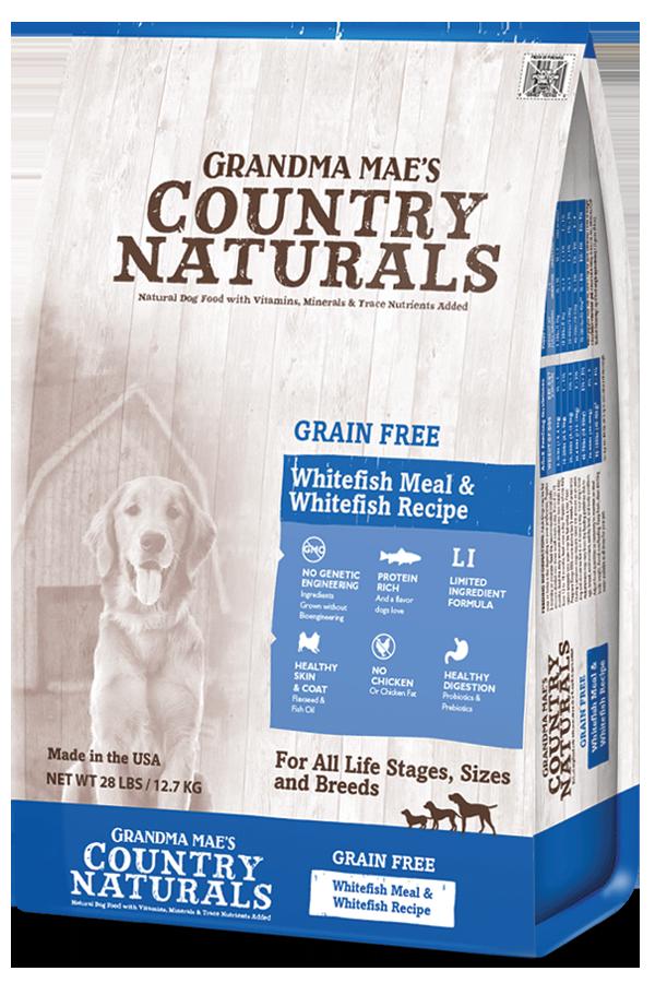 Grandma mae's Grain Free White Fish 25 lbs