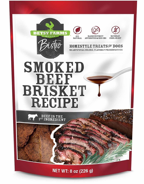 Betsy farm Smoked Beef Brisket Dog Treats 3oz
