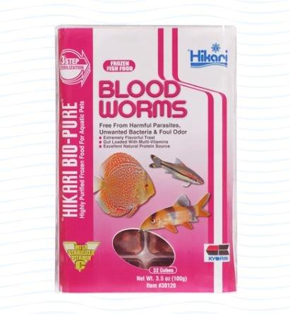 Hikari Frozen Bloodworm Cube 3.5oz