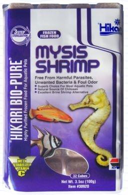 Hikari Frozen Mysis Shrimp cubed 3.5oz hikari
