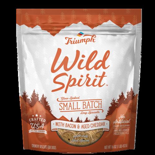 Triumph Wild Spirit Bacon and aged Cheddar
