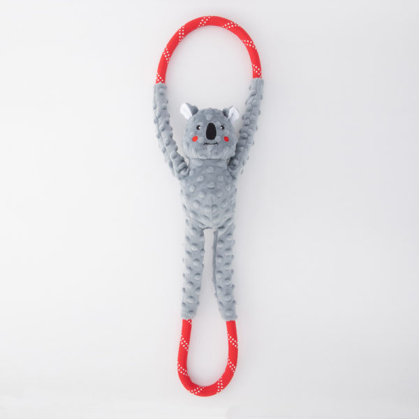 Zippy Pet Ropetug Koala Bear large