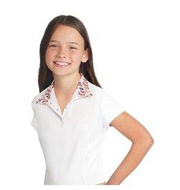 Ovation Child Ellie Quarter Snap Show Shirt - Short Sleeve