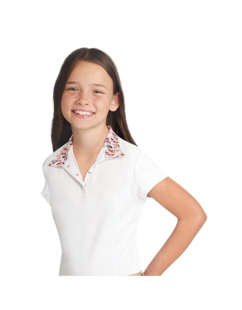 Ovation Child Ellie Quarter Snap Show Shirt - Short Sleeve
