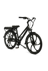 "Pedego Electric Bikes City Commuter 26"" Step Thru BLACK Edition w/ MAGNESIUM RIMS"