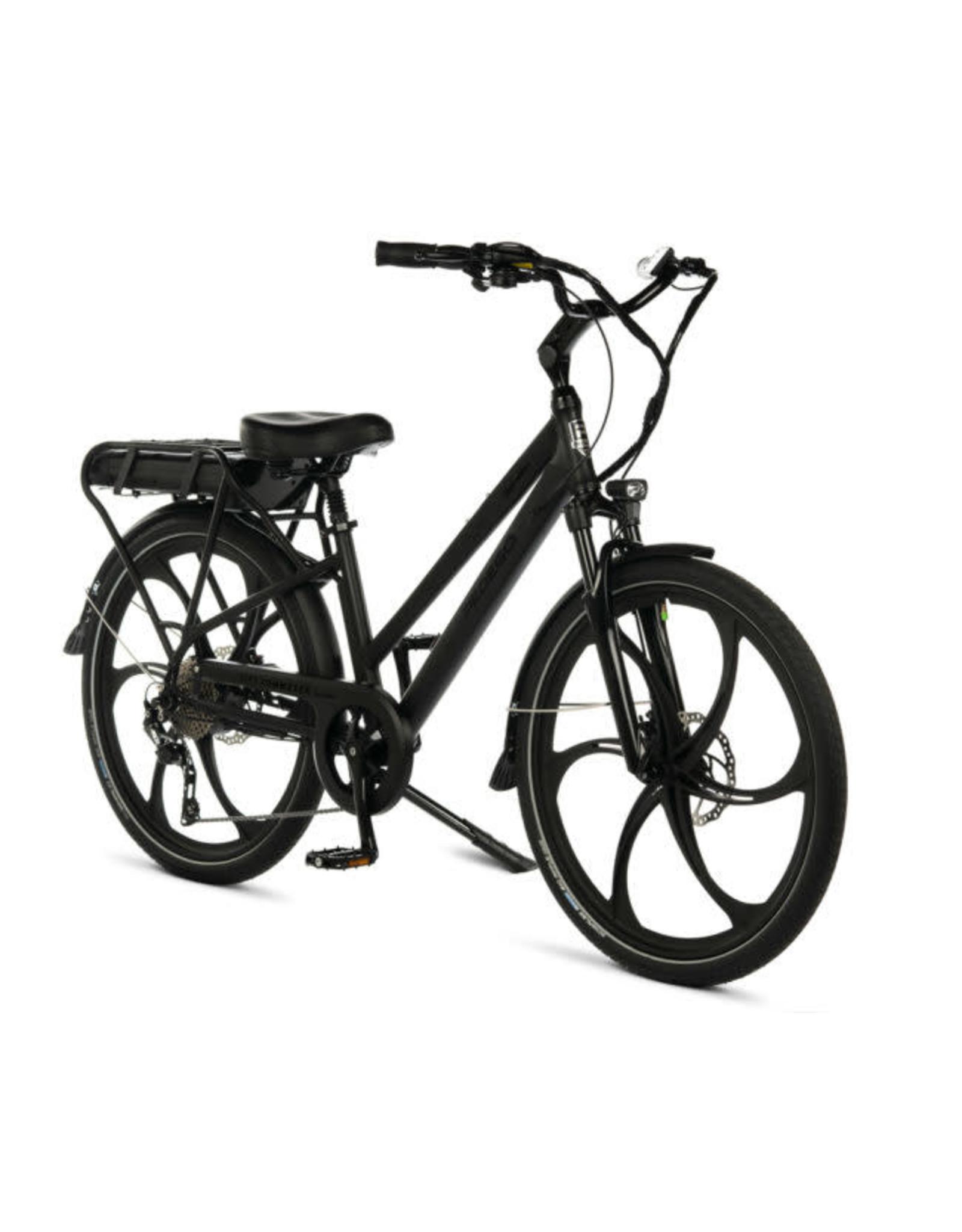 "Pedego Electric Bikes City Commuter 28"" Step Thru BLACK Edition w/ MAGNESIUM RIMS"