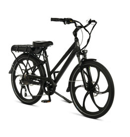 "Pedego Electric Bikes City Commuter 28"" Step Thru BLACK Edition w/ MAGNESIUM RIMS"