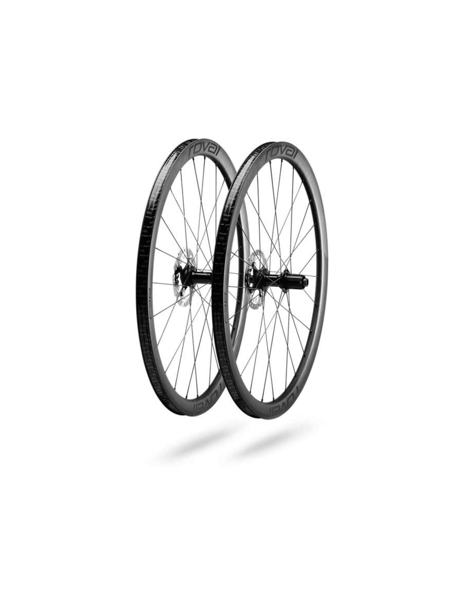 Specialized Bikes C 38 DISC WHEELSET SATIN CARBON/BLK