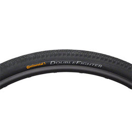 Continental Continental DoubleFighter Tire - 700 x 35 or 37 Clincher Steel Black
