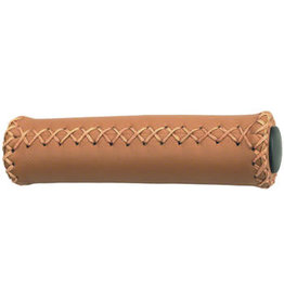 Dimension Dimension Hand-Stitched Leather Grips: Brown