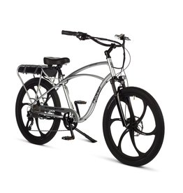 "Pedego Electric Bikes Interceptor 29"" Classic PLATINUM w/ MAGNESIUM RIMS"