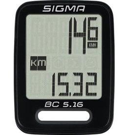 Sigma Sigma BC 5.16 Bike Computer - Wired