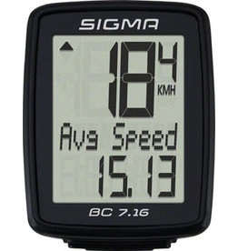 Sigma Sigma BC 7.16 Wired Cycling Computer