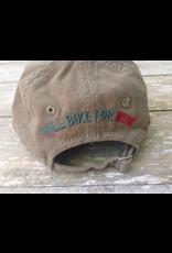 Cap - Will Bike For Wine