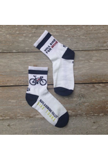 NVBT Will Bike For Wine Sock