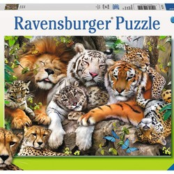 Big Cat Nap - 200 Piece Puzzle