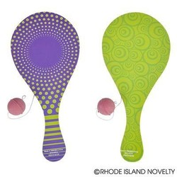 "10"" Printed Paddle Ball"