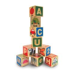 ABC & 123 Wooden Blocks