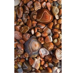 Agates Blank Journal - Lined