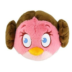 "Angry Birds Star Wars 5"" Plush Princess Leia"