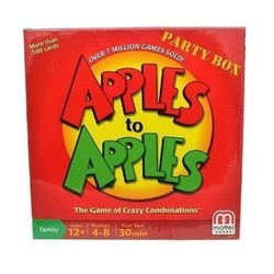 Apples to Apples Party Board