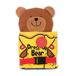 Dress Up Bear Cloth Book
