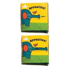 Baby Play Cloth Books - Opposites