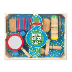 Band in a Box - Drum! Click! Clack! Musical Instruments