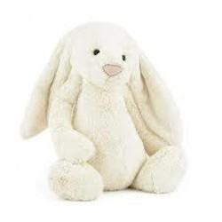 Bashful Cream Bunny Huge