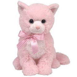 Beanie Babies Classic - Duchess Cat Pink - Medium 13""