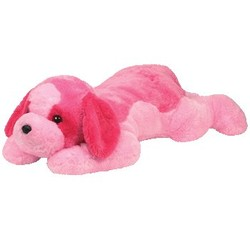 Beanie Babies Classic - Yodel Dog Pink - XLarge 32""