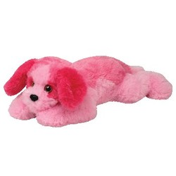 """Beanie Babies Classic - Yodel Dog Pink - Large 21"""""""