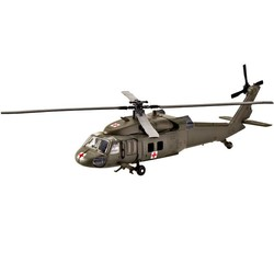 "10"" Diecast Black Hawk Helicopters"