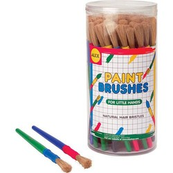 Canister of Mid-Size Paint Brushes - Each