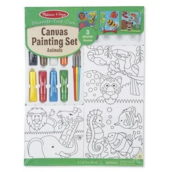 Canvas Painting Set - Animal Portraits