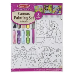Canvas Painting Set - Princess Portraits
