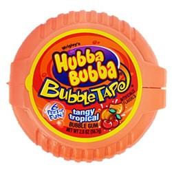 Hubba Bubba Bubble Tape - Tangy Tropical Gum