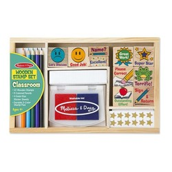 Classroom Wooden Stamp Set