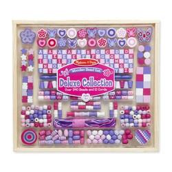 Wooden Bead Set Sparkle & Shimmer Beads
