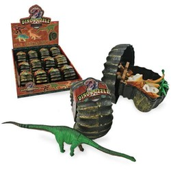 Dino Puzzle in Fossil