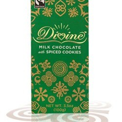 3.5 oz. Limited Edition Milk Chocolate with Spiced Cookies
