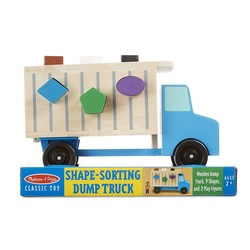 Wooden Shape Sorting Dump Truck