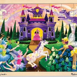 Wooden Jigsaw Puzzle - Fairy Fantasy - 48 Pieces