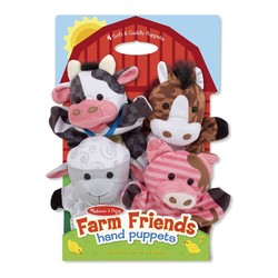 Hand Puppets Farm Friends