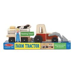 Wooden Farm Tractor