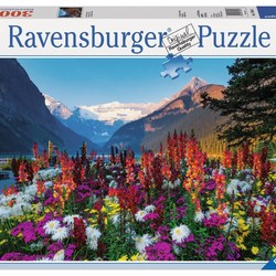 Flowery Mountains - 3000 Piece Puzzle