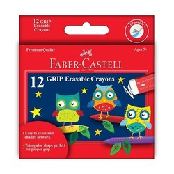 GRIP Erasable Crayons 12ct